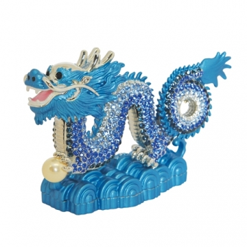Bejewelled Blue Dragon
