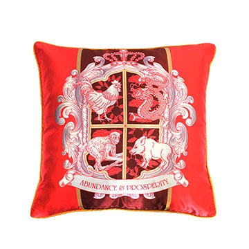 Abundance Crest Cushion Cover (1 Piece)
