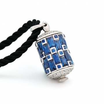 Protection Prayer Wheel Pendant