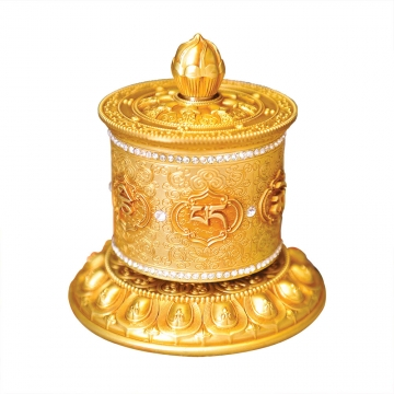 Om Mani Prayer Wheel
