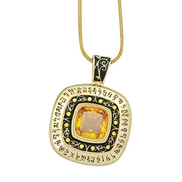 Wish Granting Pendant (Gold)