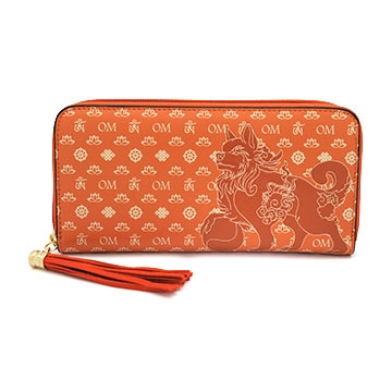 Lucky Fu Dog Purse (Brown)