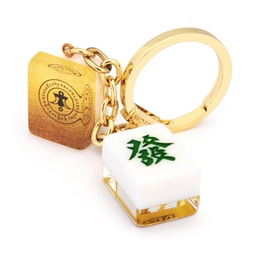 """Lucky Mahjong Tiles"" Amulet for Wealth & Windfall Luck"