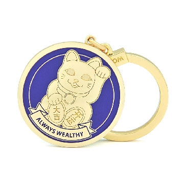 "Maneki Neko ""Always Wealthy"" Amulet"