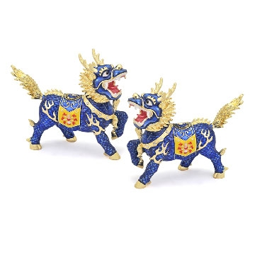 Pair of Dragon Horse