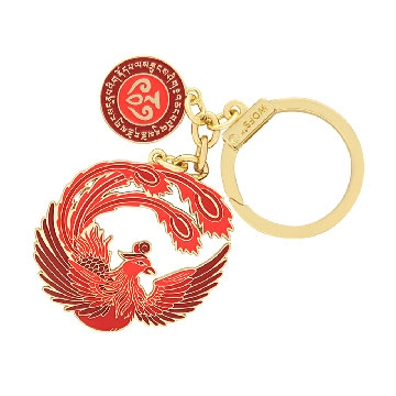 Crimson Phoenix Lunar Mansion Talisman